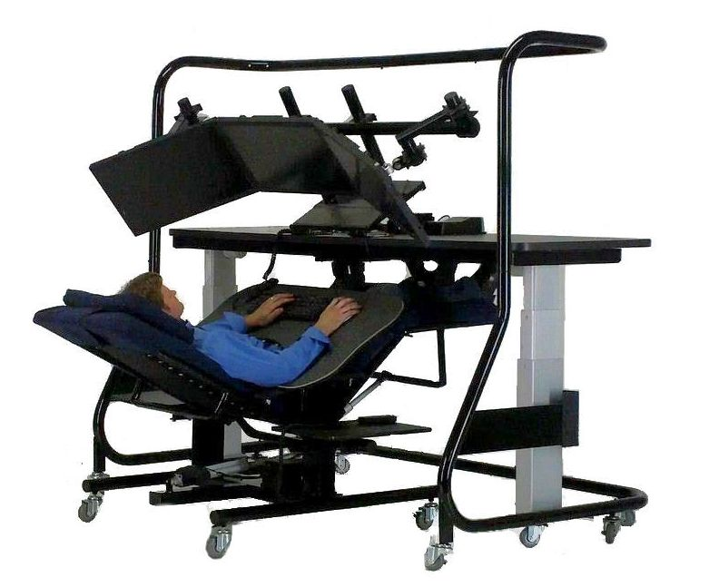 Image Gallery Reclining Workstation