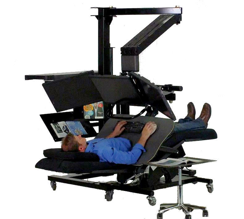 zero gravity workstation 2a