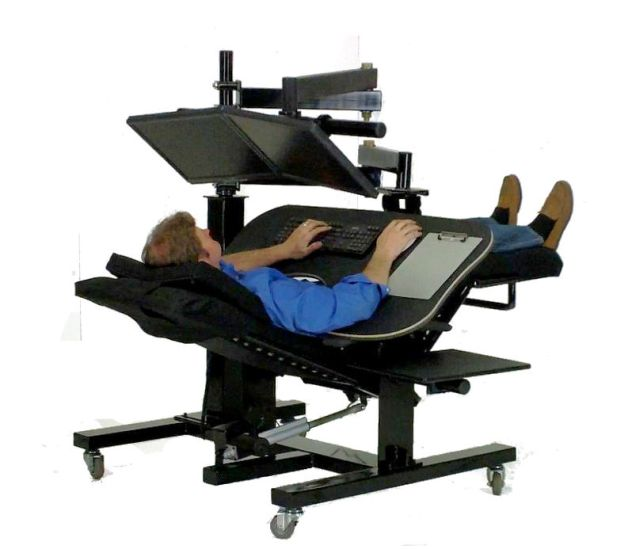 Zero gravity workstation 1 ergoquest zero gravity chairs and