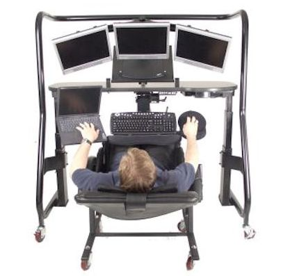 Picture  sc 1 st  ErgoQuest & Zero Gravity Workstation 5